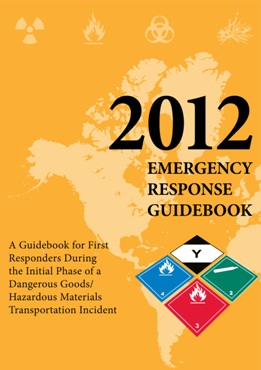 Emergency Response Guide 2012 Cover