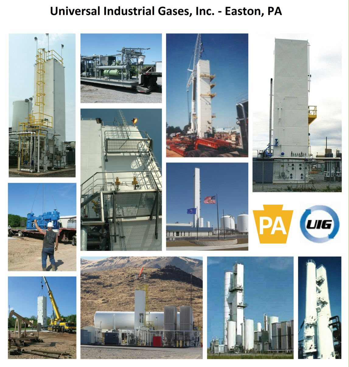 Universal Industrial Gases at the 2014 Global Petroleum Show in Calgary