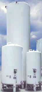 Liquid Carbon Dioxide (CO2) Storge Tanks - 3 to 50 tons capacity