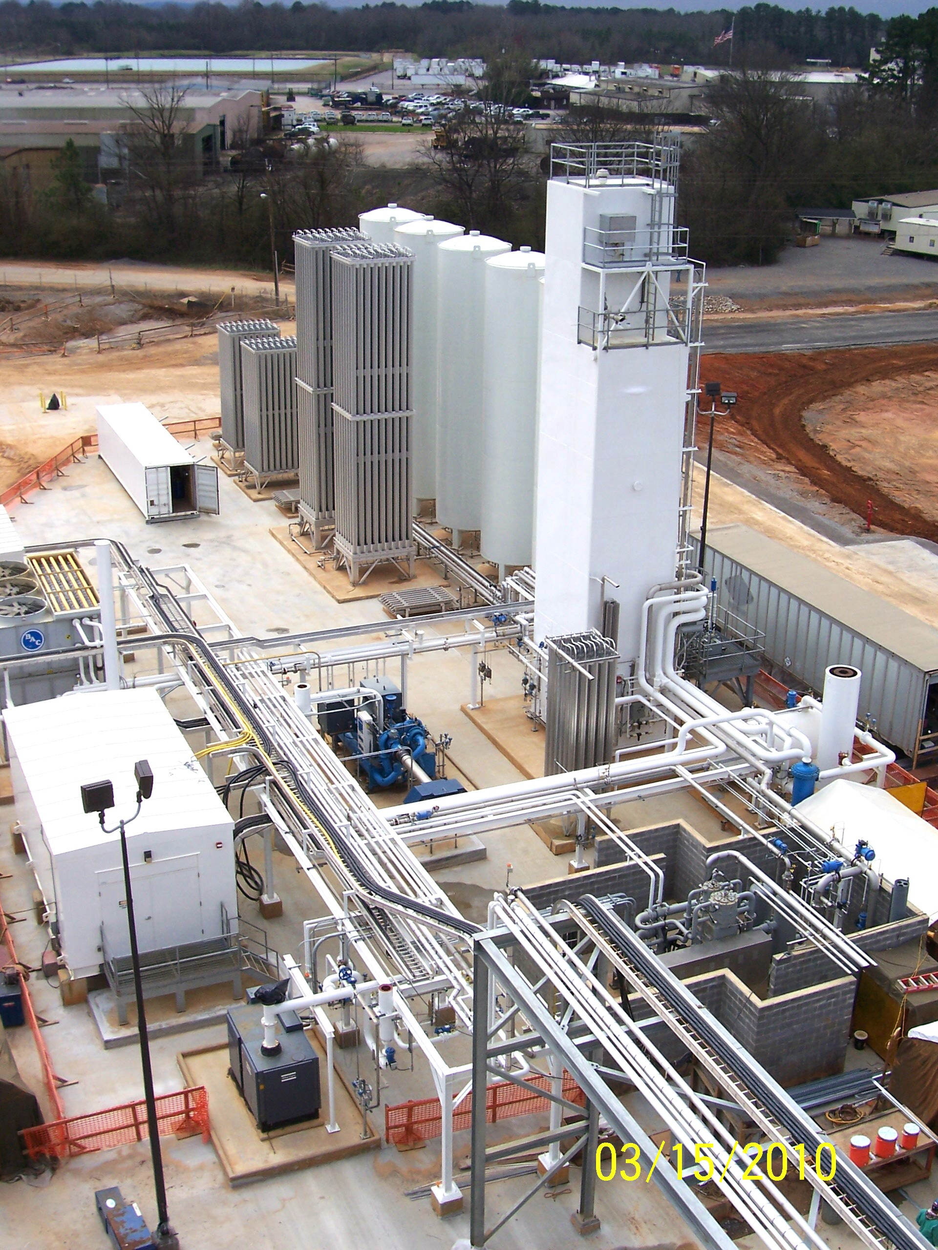 Universal Cryo Gas ASU in Hunt Refinery - Tuscaloosa Alabama
