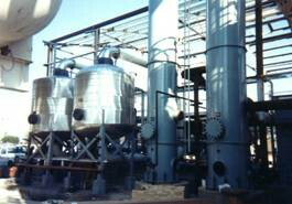 Molecular sieve and DCAC technology is used to purify air entering an air separation unit (ASU)