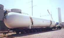 Pressure Vessels for Gaseous Oxygen, Nitrogen, Argon and other gases
