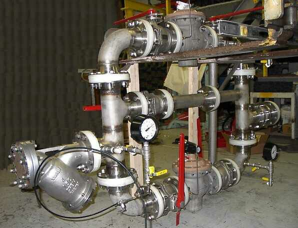 Universal Industrial Gases Inc Control Manifold