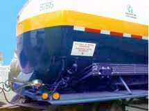 Liquid Oxygen, Liquid Nitrogen and Liquid Argon cryogenic cargo transport trailers