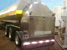 Cryogenic trailers transport liquid products from bulk merchant liquid production plants to storage at customer sites